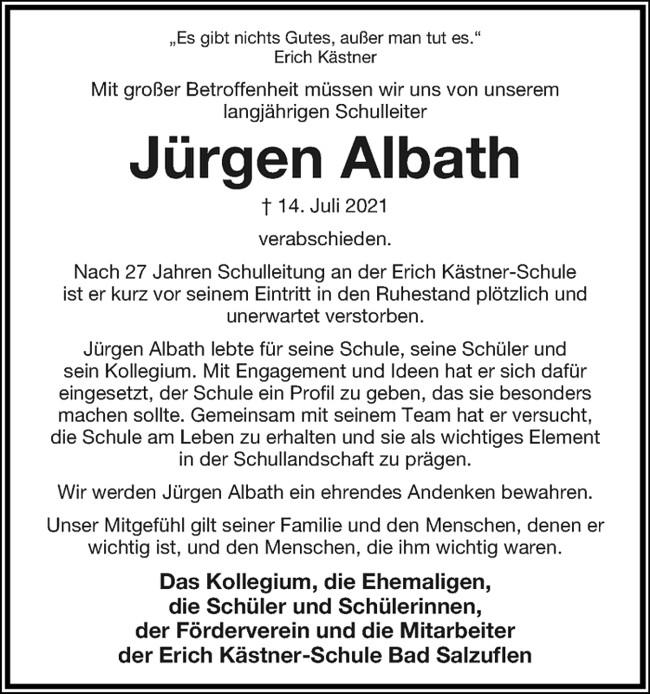 Jürgen Albath EKS Bad Salzuflen