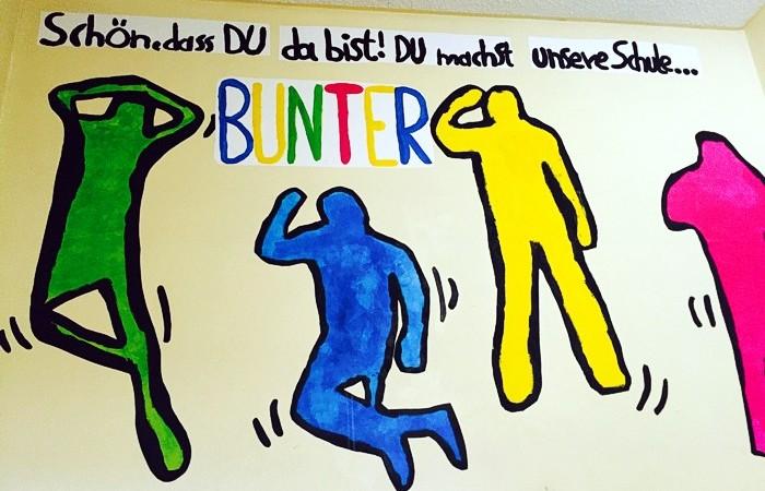 Kunst in der Schule der Erich Kästner-Schule Bad Salzuflen